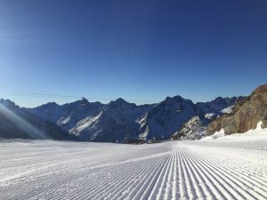 Les Deux Alpes snow report - Perfectly groomed piste