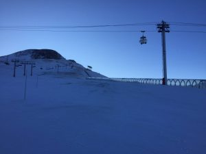 Les Deux Alpes Snow Report - View from Le Cret.