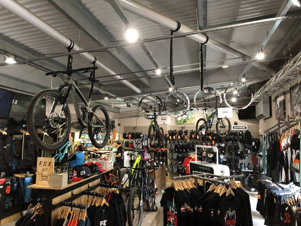 The Shop at Bike Park Wales